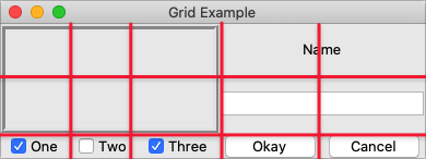 TkDocs - Tk Tutorial - The Grid Geometry Manager