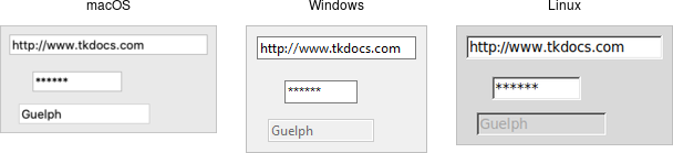 TkDocs - Tk Tutorial - Basic Widgets